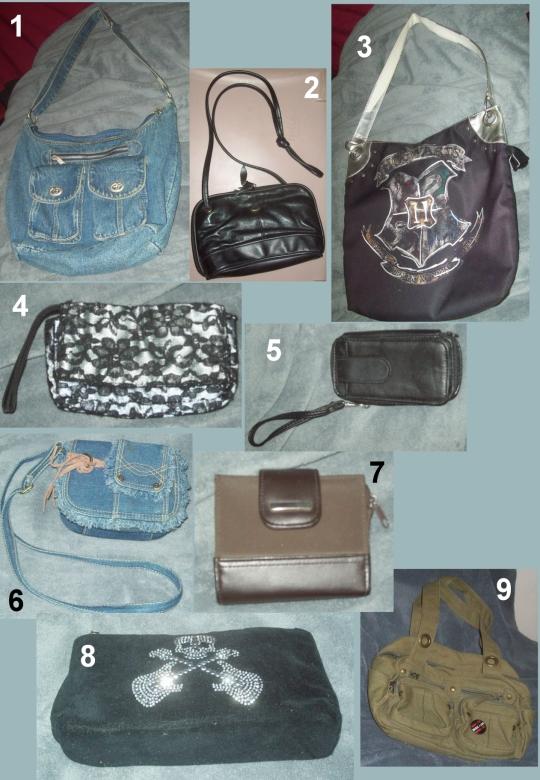 my purse wardrobe